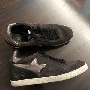 ASH charcoal grey size 8 sneakers